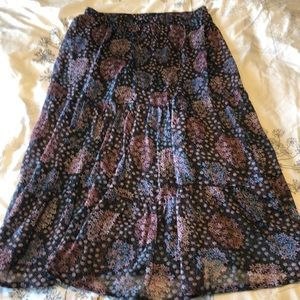 Anthropologie Skirts - NWT Maeve maxi skirt from Anthropologie - medium